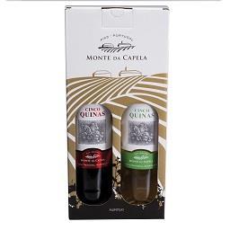 Conjunto Vinho Regional Alentejano tinto + branco