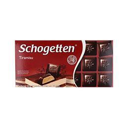 Tablete de chocolate tiramisú
