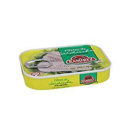 Filetes sardinha c/ óleo