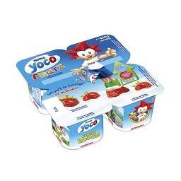Iogurte Yoco Frutz Morango
