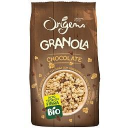 Granola com chocolate bio