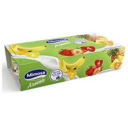 Iogurte sólido aroma sabor a morango ananás banana