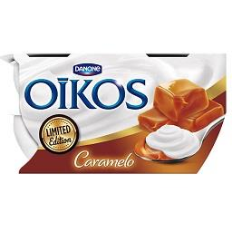 Iogurte oikos caramelo