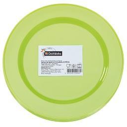 Pratos para pic nic 19 cm verdes