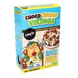 Cereais bio chocolate vikings