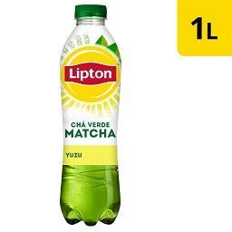 Chá verde matcha yuzu