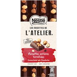 Chocolate negro com avelã e caramelo