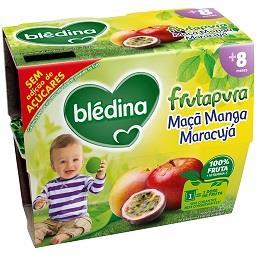 Fruta pura maçã/manga/maracujá