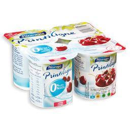 Iogurte magro com pedaços de fruta