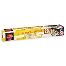 Película aderente para microondas, 3 em 1, 20m