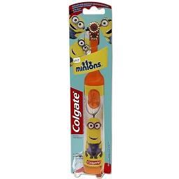 Escova dentes kids minions bateria