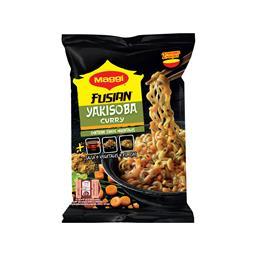 Yakisoba noodles caril