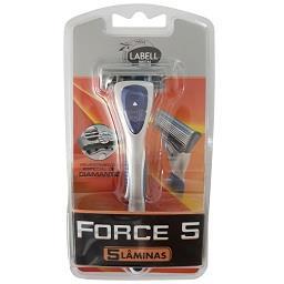 Maquina de barbear force 5