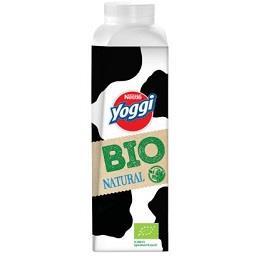 Iogurte líquido yoggi bio natural