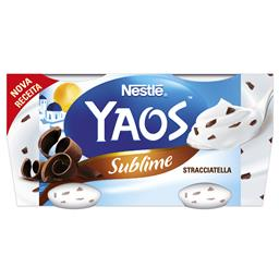 Iogurte grego stracciatela