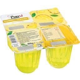 Sobremesa gelatina de ananás