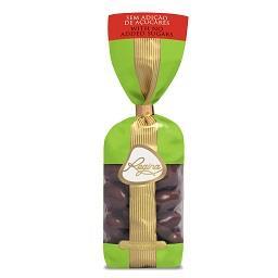 Amêndoas cobertas de Chocolate sem adição de açucar