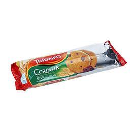 Bolachas cookies corintia