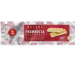 Wafers framboesa barras