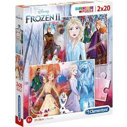 Puzzle Frozen 2 x 60 peças