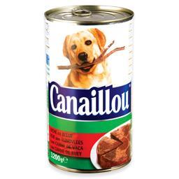 Alimento húmido para cão com carne de vaca