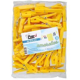 Molas plásticas amarelas