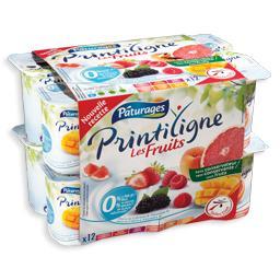 Iogurte magro 0% pedaços de frutas