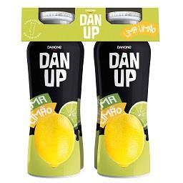 Iogurte líquido Dan'up lima e limão