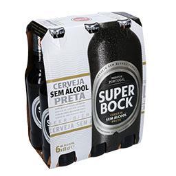 Cerveja sem álcool, preta