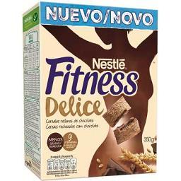 Cereais recheados fitness delice chocolate