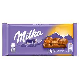 Tablete triple caramelo