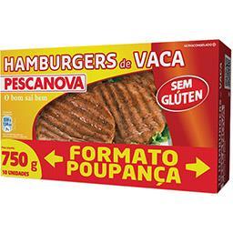 10 Hamburgers de Vaca