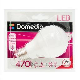 Lâmpada LED Formato Clássico 6W E27 220-240V