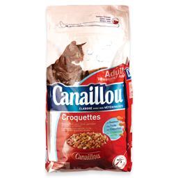 Alimento seco para gato, mistura de peixes