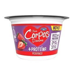 Iogurte Corpos Danone +Proteína Morango