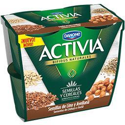 Iogurte Activia Semente Linhaça/Aveia