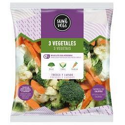 Aquecer & consumir 3 vegetais