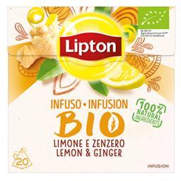 Bio infusão limão ginger