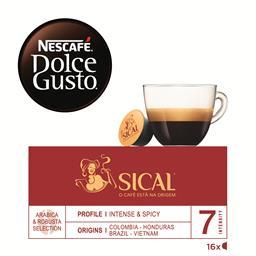 Café em cápsulas dolce gusto sical