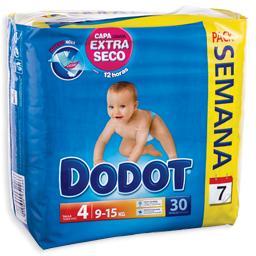 Fraldaspara bebé 3d, tamanho 4, 9-15 kilos, 30 unida...
