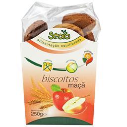 Biscoitos de maçã bio 250g