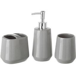 Conjunto de 3 peças em cerâmica para casa de banho