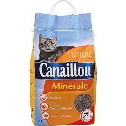 Areia para gato perfumada