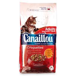 Alimento seco para gato, croquetes de aves