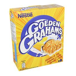 Barras de cereais golden grahams