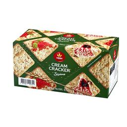 Bolachas cream cracker sesamo