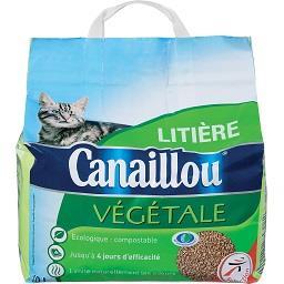 Areia vegetal para gato