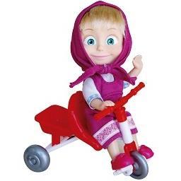 Boneca com triciclo 12 cm