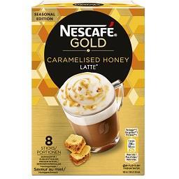 Bebida em saquetas salted caramelized honey