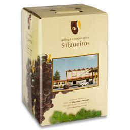 Vinho maduro tinto, bag in the box